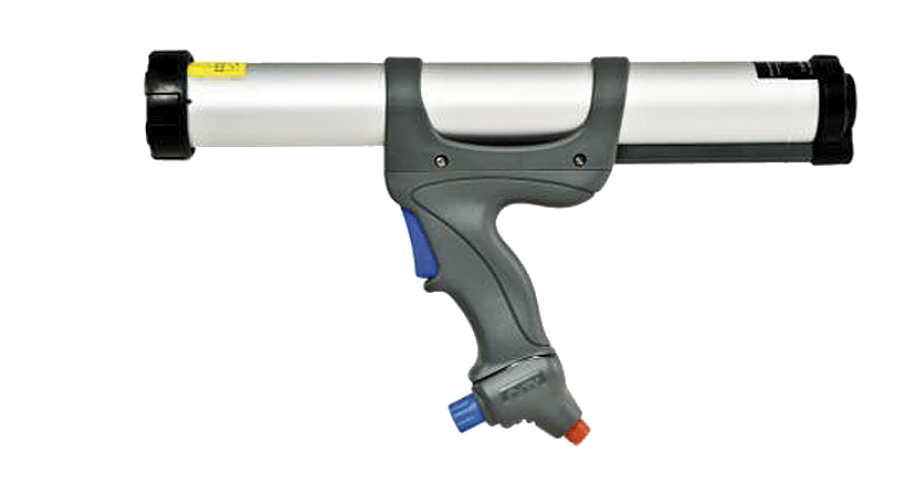 Caulk pneumatic guns